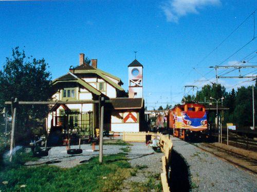Sesam Stasjon & train