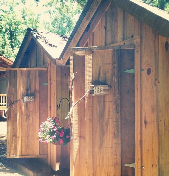 Outdoor Wedding Bathroom Ideas: 19 Best Images About Outhouse On Pinterest