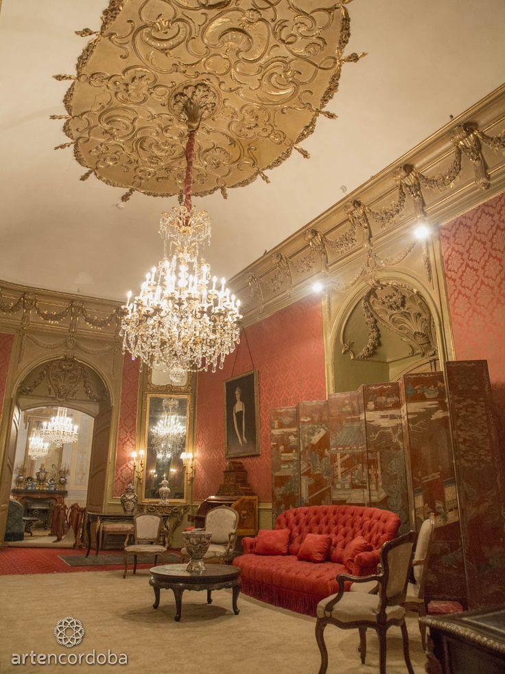 Salón Rojo del Palacio de Viana en Córdoba