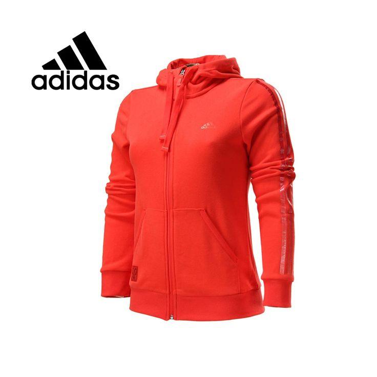 Оригинал ADIDAS женские спортивные куртки S14106 модели весна спортивной бесплатная доставка