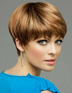 Short Hair - like style & color.
