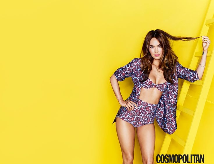 Megan Fox for August 2014 Cosmopolitan