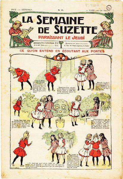 la semaine de Suzette No 06 pg de titre small