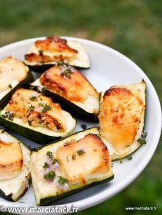Une recette de courgette à faire au four ou au barbecue … Pour les fondus de…