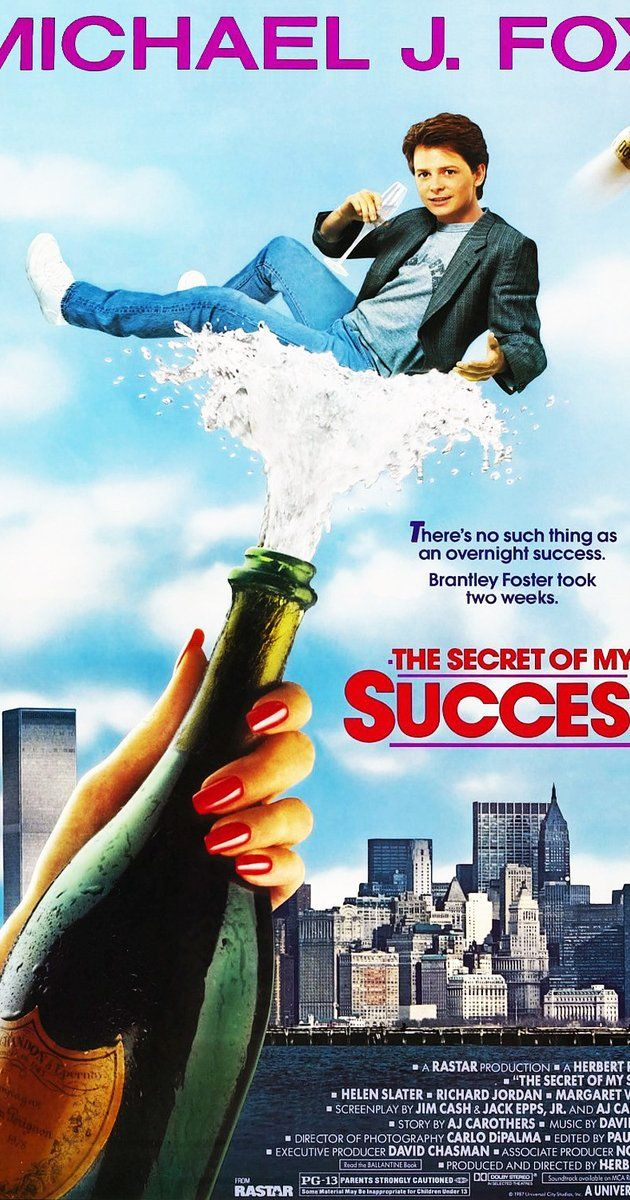 Directed by Herbert Ross. With Michael J. Fox, Helen Slater, Richard Jordan, Margaret Whitton. A talented young man can't get an executive position without rising through the ranks, so he comes up with a shortcut, which also benefits his love life.