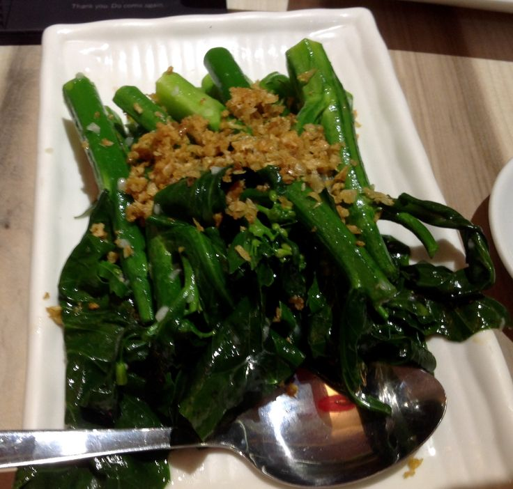 Stir Fried Broccoli @ Village Roast Duck @ Bangsar Shopping Centre