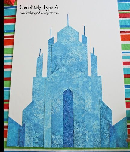 How To Make Elsas Ice Castle From DISNEYS FROZEN