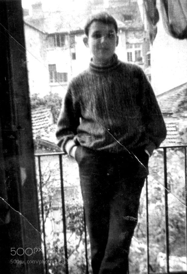 My First Selfie 1962 (Of Bulgaria Sofia Asparuh 29 St.) by http://bigappleorganizers.com/