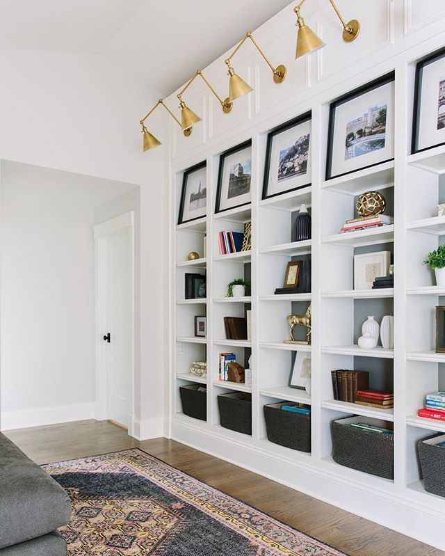 Brass Built Ins Make For One Great Loft Space This Amazing Family