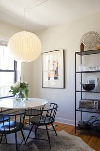 Ashley's place has a great floor plan that allows for a lot of natural light, but the real beauty of her home is her collection of objects, artwork, plants and décor.
