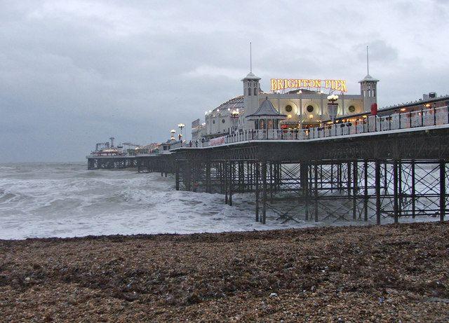 Brighton Pier   Top 100 UK Tourist Attractions