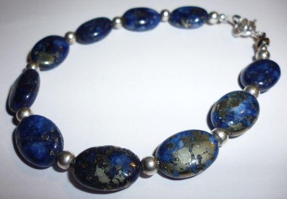 Bransoletka - lapis lazuli