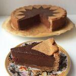 Шоколадный пирог с шоколадным крем-муссом