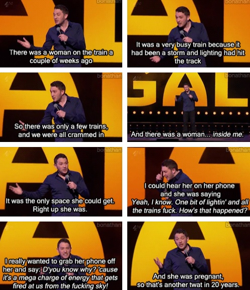Jon Richardson <3 I know this isn't 8 out of 10 cats, but who really cares.
