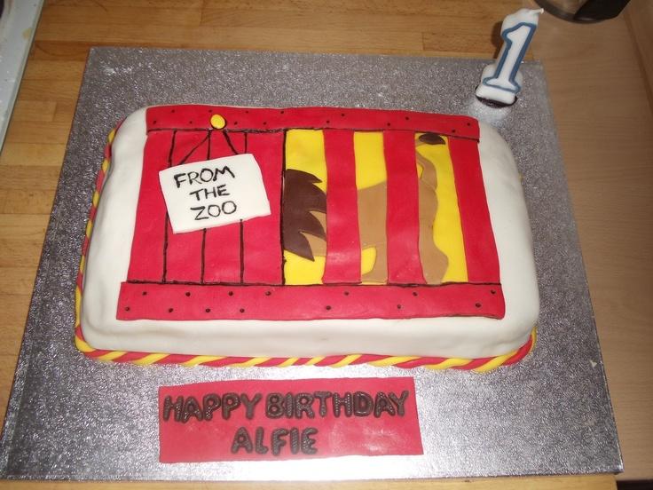 Dear Zoo Birthday Cake Topper