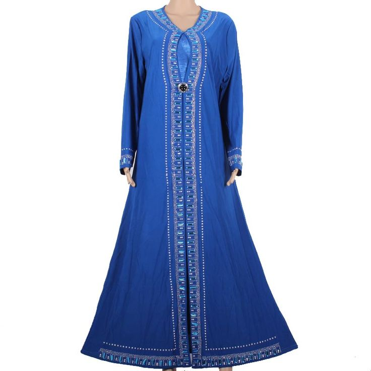 Muslim Abaya Kaftan Islamic Clothing for Women Beading Design Turkish Women Clothes Maxi Abaya in Dubai Kaftan Dress Blue M1258     Tag a friend who would love this!     FREE Shipping Worldwide     Get it here ---> http://oneclickmarket.co.uk/products/muslim-abaya-kaftan-islamic-clothing-for-women-beading-design-turkish-women-clothes-maxi-abaya-in-dubai-kaftan-dress-blue-m1258-3/