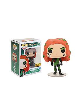 """<i>I am the guardian of the Green. I am Poison Ivy.</i><br><br>New 52 Poison Ivy is given a fun, and funky, stylized look as an adorable collectible Pop! vinyl figure from Funko! <br><br>Hot Topic exclusive!<br><ul><li style=""""list-style-position: inside !important; list-style-type: disc !important"""">Pop! Heroes 171</li><li style=""""list-style-position: inside !important; list-style-type: disc !important"""">3 3/4"""" tall</li><li style=""""list-style-position: inside !important; list-style-type: disc…"""