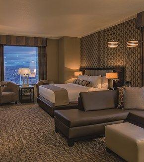 Golden Nugget Hotel & Casino, Rush Tower |  Hospitality Design, casino interior design, luxury casinos | #USAcasinodesign #moderncasinodesign #contractfurniture | More: https://www.brabbucontract.com/projects