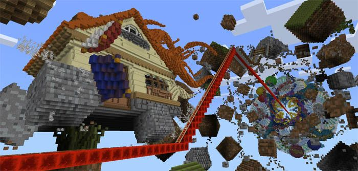 The creator of this map is blockworks he creates win10coaster the creator of this map is blockworks he creates win10coaster roller coaster map to celebrate one year of installing minecraft the game works w gumiabroncs Image collections