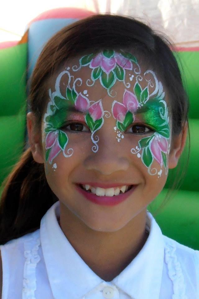 Beautiful face paint designs