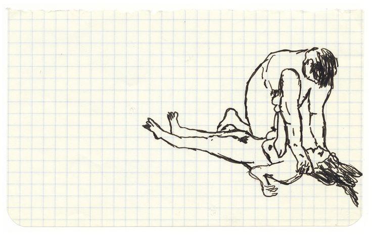 """Annette Messager """"Mes dessins secrets"""" 1972-2011"""