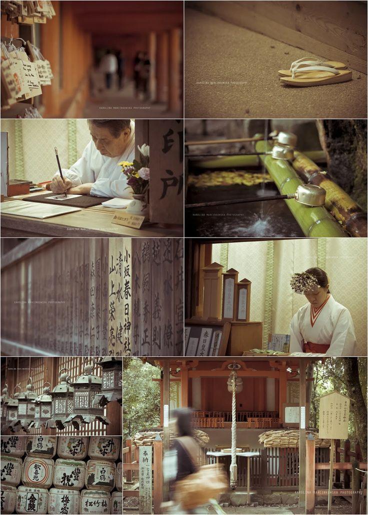 Nara, Japan - prayer, temple, vintage