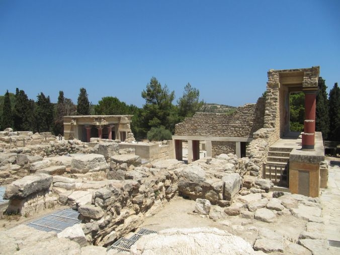 Knossos - Crète