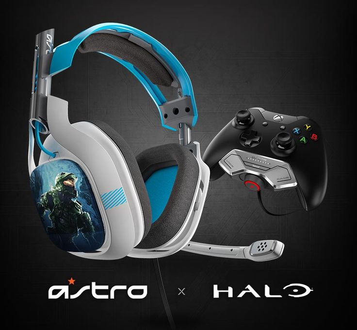 Check Out the Stylish Halo Edition A50 Wireless Xbox One Headset & the Limited Edition A40 Speaker Tags | High-Def Digest