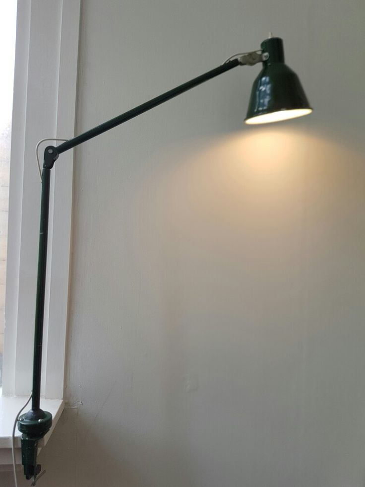 Industrial old lamp.