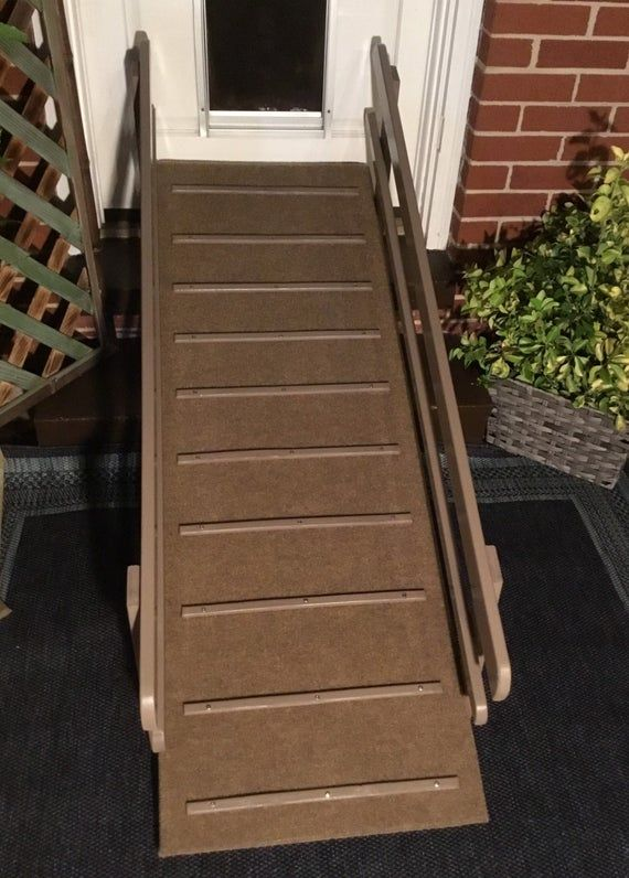 Outdoor Patio Ramp Etsy Outdoor Patio Outdoor Ramp Patio Steps | Outdoor Carpet For Steps | Front Entrance | Marine | Navy Pattern | Rubber | Diy