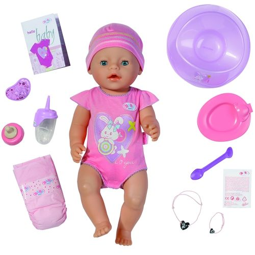 BABY Born Interactive Baby Girl Doll