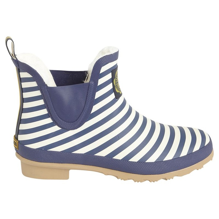 Joules Wellibob Striped Rubber Ankle Wellington Boots - John Lewis