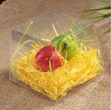 50 шт трапецеидальной форма конфетная коробка, Прозрачный пвх коробка для упаковки конфеты и конфеты 7 * 7 * 6 см(China (Mainland))