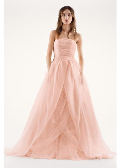 1000 ideas about organza wedding dresses on pinterest for Vera wang wedding dresses prices