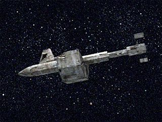 The Botany Bay- Khan's Sleeper Ship from the Star Trek episode Space Seed,1968.