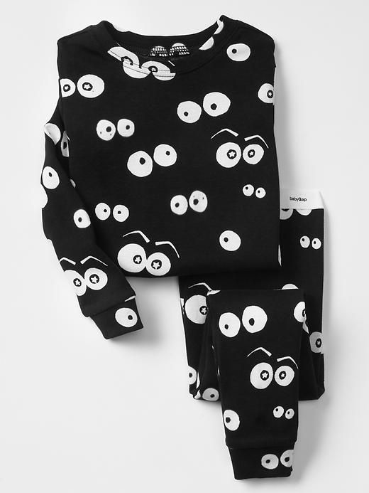 Halloween glow-in-the-dark spooky eyes sleep set by Gap Kids
