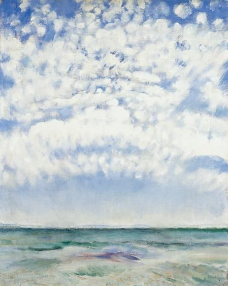 Csók, István , View of the Lake Balaton, 1929, Oil, Canvas