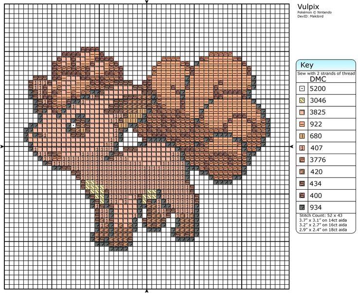 37 - Vulpix by Makibird-Stitching.deviantart.com on @deviantART