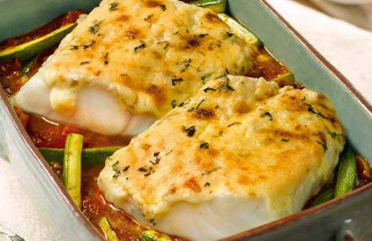Verrukkelijk visje uit de oven