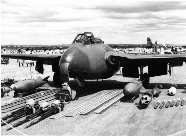 Rhodesian Air Force De Havilland Vampire.