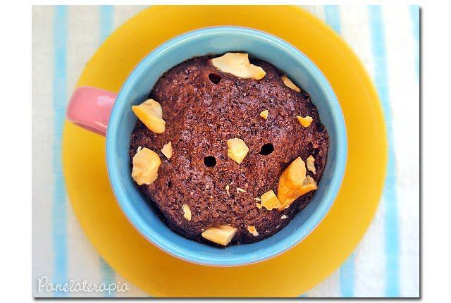 Brownie de Caneca (de Microondas) | Panelaterapia