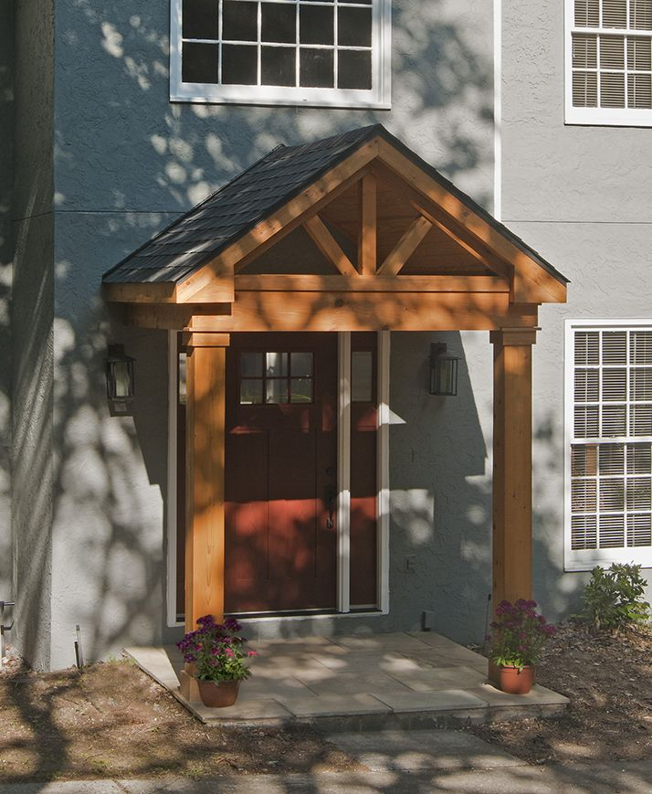 Surprising Timber Frame Portico With Gable Roof Designed And Built Door Handles Collection Olytizonderlifede