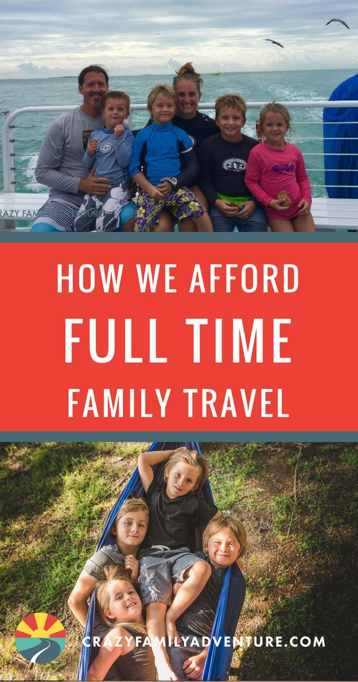 How we afford full time family travel with kids. How we afford RV living and full time family travel with kids. Here are some #Tips and #Ideas on how to afford full time family travel #fulltimetravel #travelfulltime #howtoaffordfulltimetravel #travelwithkids #budgettravel