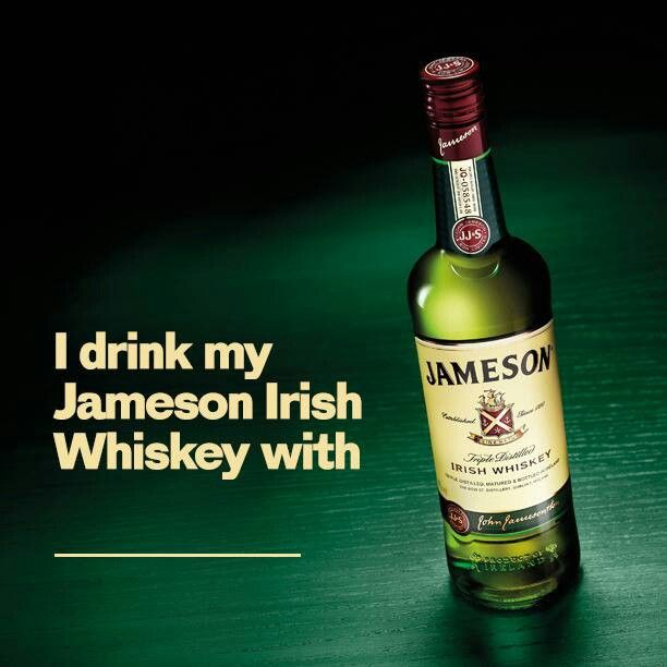 17 best images about jameson irish whiskey on pinterest for Mixed drink with jameson