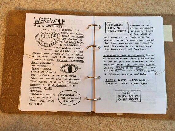 John Diary ~ Werewolf | · Supernatural · | John winchester ...