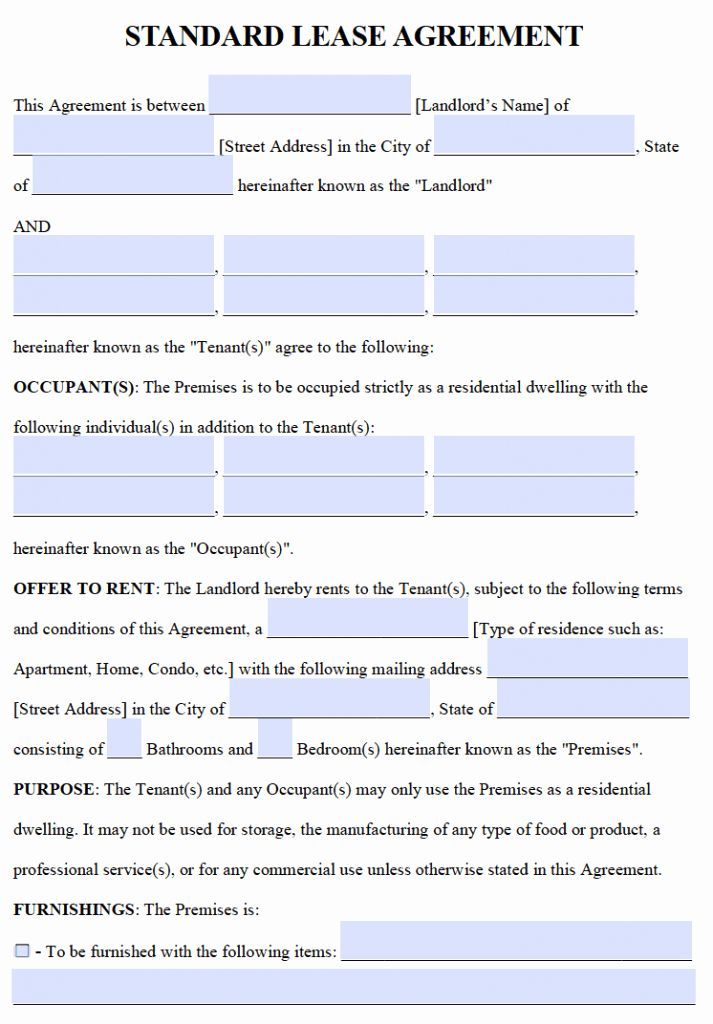 One Page Rental Agreement Best Of Free Residential Lease Agreements Pdf And Word Te Rental Agreement Templates Lease Agreement Lease Agreement Free Printable