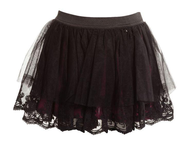 Liu jo rok zwart voor meisjes online bij Deleye.be & BeKult