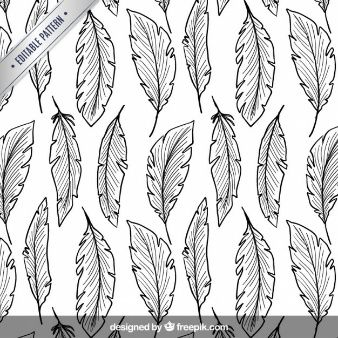 feathers pattern - Buscar con Google