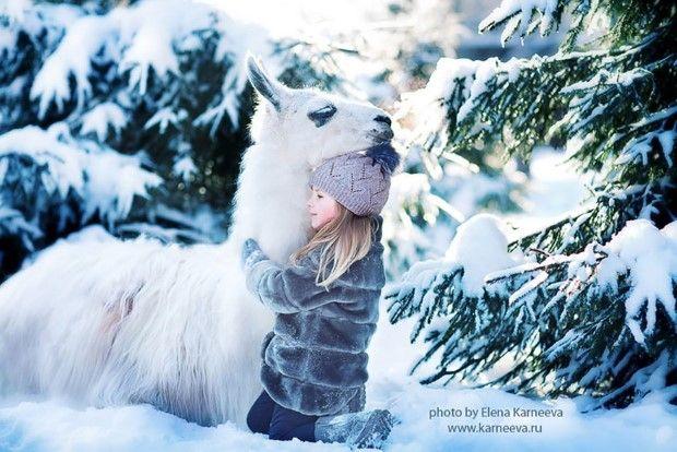 Elena Karneeva fotografie deti a zvieratiek 5
