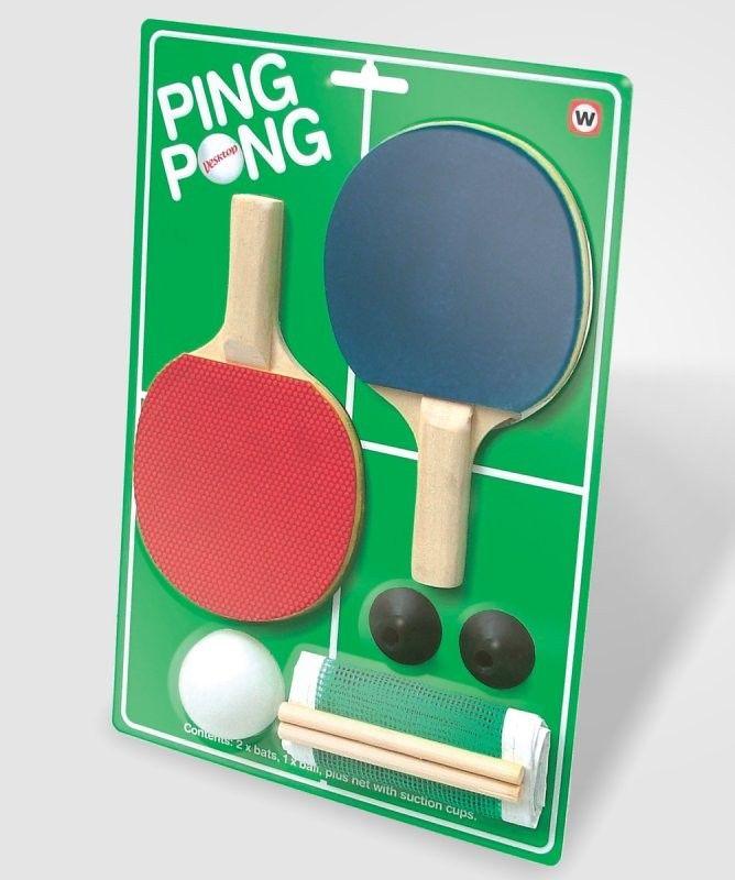 Desktop Ping Pong Kit: NOW $7.99! (was $14)